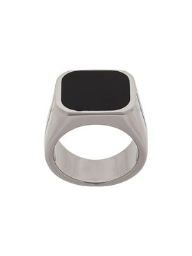 Givenchy - Engraved Signature Signet Ring - Men
