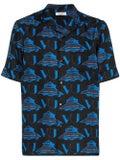 Valentino - Valentino X Undercover Ufo Printed Button Down Shirt - Men