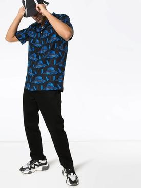 Valentino x Undercover UFO printed button down shirt