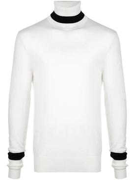 wool roll neck sweater