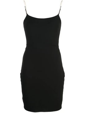 Alexanderwang - Jersey Little Black Chain Strap Dress - Women