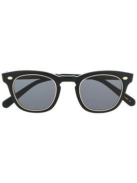 Mr. Leight - Hanalei Black 12kt Gold Sunglasses - Men