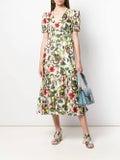 Borgo De Nor - Lucia Tropical Print Dress - Women