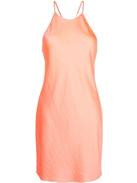 Alexanderwang.t - Salmon Pink Strappy Slip Dress - Women