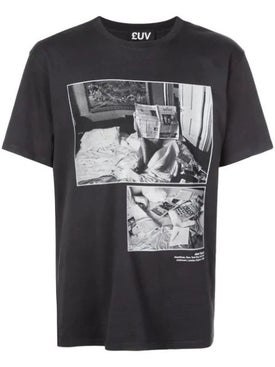 Luv Collections - Headlines Photographic Print T-shirt - Men