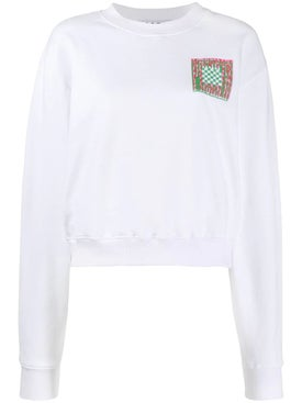 - Abstract Print Graphic Sweatshirt - Sweatshirts