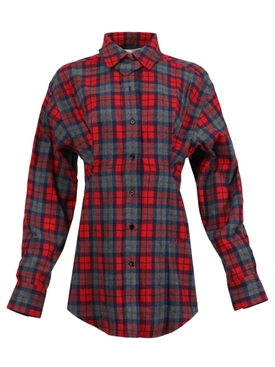 Waisted Lumberjack Shirt
