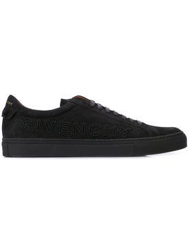 Givenchy - Logo Perforated Sneakers - Men