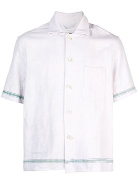 Bode - Stripe Toweling Shirt - Men