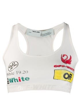 Off-white - Multilogo Sporty Bra - Cropped