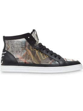 Karl Kollage High top sneakers