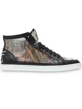 Fendi - Karl Kollage High Top Sneakers - Men