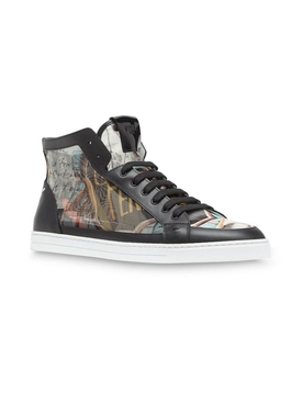 Karl Kollage High top sneakers