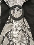 Attico - Large Snakeskin Print Belt Snakeskin - Women