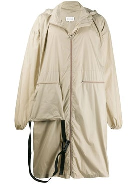 Maison Margiela - Maxi Raincoat With Fanny Pack - Men