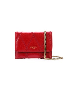 Givenchy - Chain Card Case Red - Crossbody