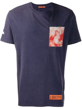 Heron Preston - Navy Heron Print T-shirt - Men