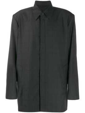 Tailored boxy shirt