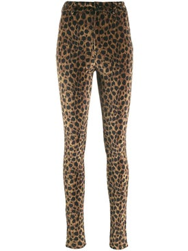 Attico - Leopard Print Leggings - Women