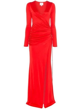 Allegra ruched waist maxi dress