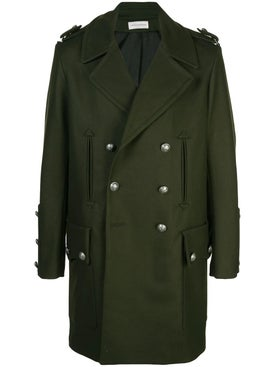 Faith Connexion - Green Double-breasted Coat - Men
