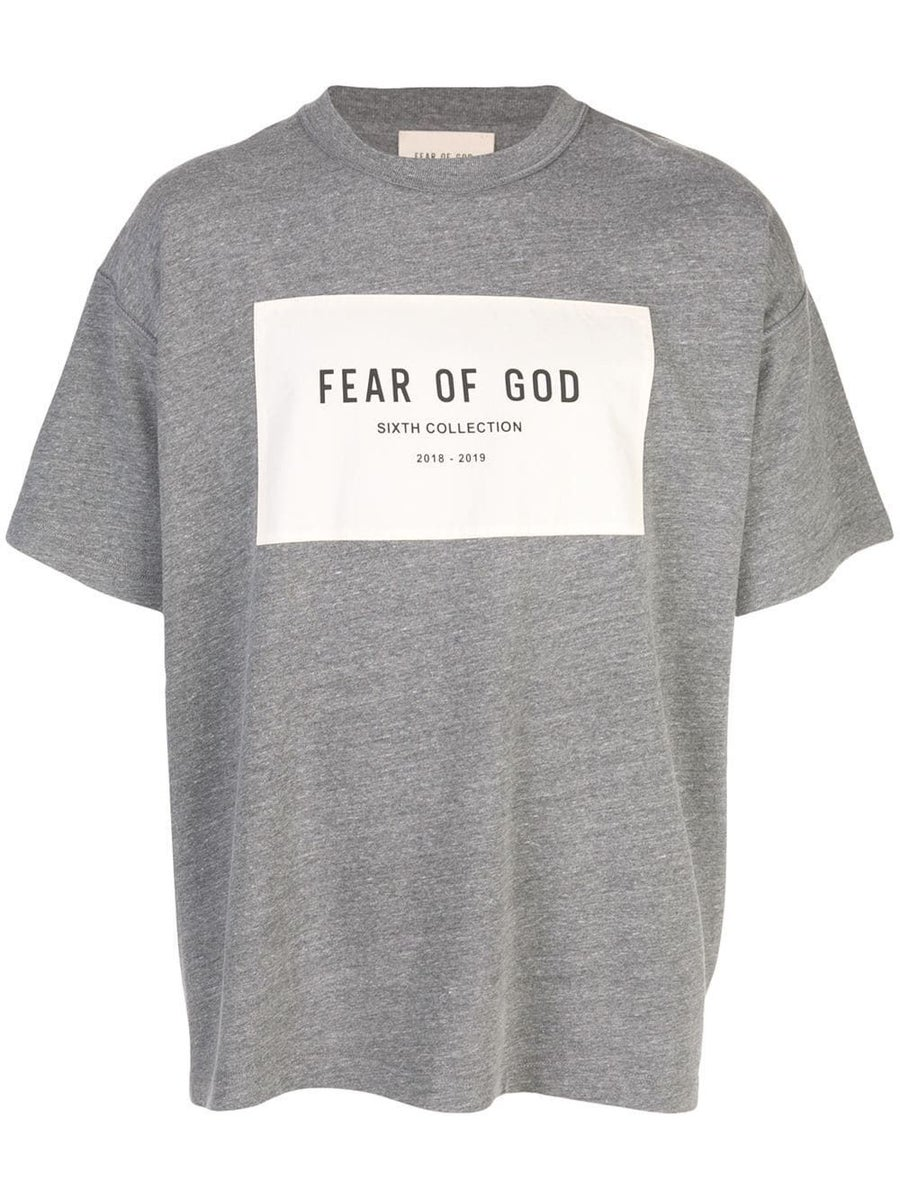 Fear Of God T-shirts 6th collection t-shirt grey