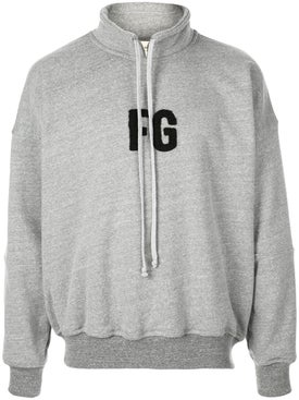 Fear Of God - Mock Neck 'fg' Pullover - Men
