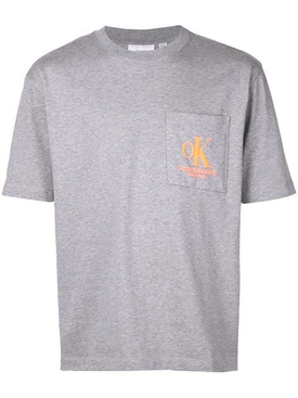 Grey ok logo t-shirt