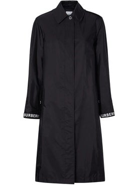 Burberry - Logo Detail Car Coat - Women