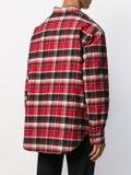 Balenciaga - Checked Flannel Padded Shirt - Men