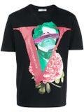 Valentino - Valentino X Undercover Extraterrestrial Logo Face T-shirt - Men