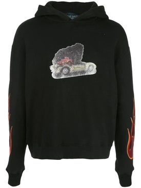 Lost Daze - Burning Car Hoodie - Men