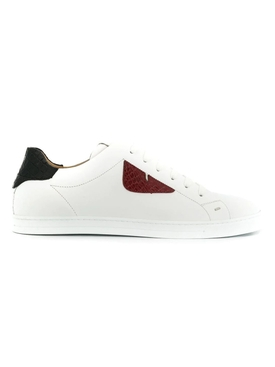 Fendi - Bag Bugs Leather Sneakers - Women