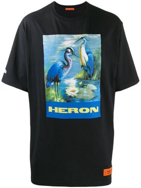 Heron Preston - Black Heron Photo Print T-shirt - Men