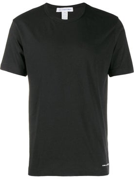 Comme Des Garcons Shirt - Classic Cotton T-shirt Black - Men