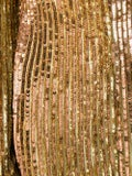 Attico - Gold Sequined Mini Dress - Women