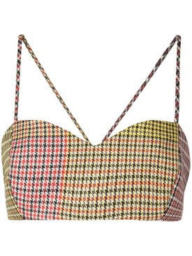 Rosie Assoulin - Multicolor Patchwork Bra Top - Women