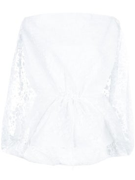 Rosie Assoulin - Lace Cape Blouse - Women