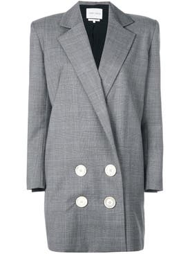 Carmen March - Long Checked Blazer - Women