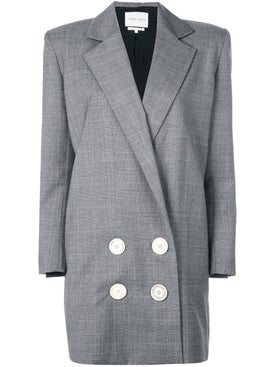 Carmen March - Long Checked Blazer - Tailoring
