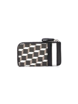 Pierre Hardy - Black And White Perspective Cube Wallet - Men