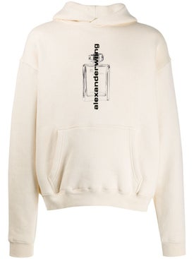 Alexanderwang - Fragrance Bottle Hoodie Neutral - Men