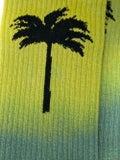 Palm Angels - Gradient Palm Tree Socks Green - Men
