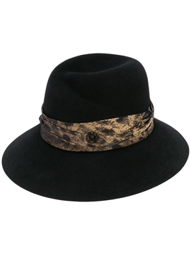 Maison Michel - Rose Varnish Fedora Hat - Women