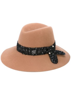 Maison Michel - Kate Wool And Pearl Fedora Hat - Fedora