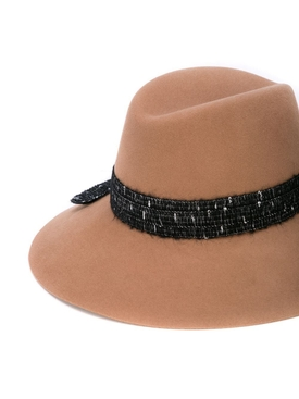Kate Wool and pearl fedora hat