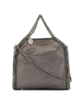 Stella Mccartney - Tiny Metallic Falabella Tote Gold/grey - Women