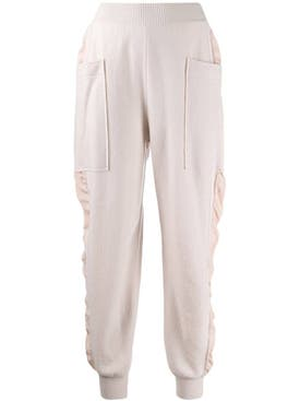 Stella Mccartney - Knitted High-rise Track Pants - Women