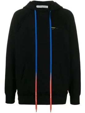 Off-white - Acrylic Paint Arrows Hoodie Black - Men