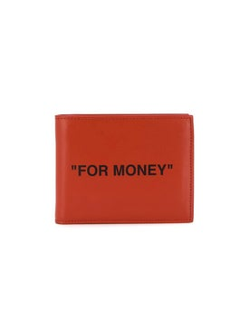 Off-white - Orange 'for Money' Wallet - Men